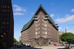 Tyskland Hamburg, Chile hus Arkivfoton