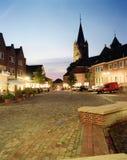 Tyskland lägre Sachsen, Ankum, St Nikolaus Cathedral arkivfoto