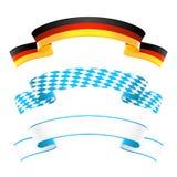 Tyskland- och Bayern baner royaltyfri illustrationer