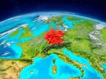 Tyskland på jord Royaltyfri Fotografi