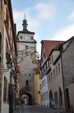 Tyskland Rothenburg Royaltyfria Foton