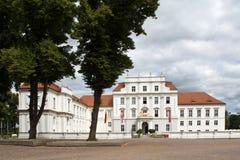Tyskland slott Oranienburg Fotografering för Bildbyråer