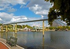 Tyskland-Soltau Maj 2016 Heide Park Resort i Soltau, Maj 2016 Arkivbilder
