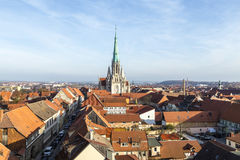 Tyskland Thüringen, Muhlhausen, royaltyfri fotografi