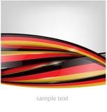 Tysklandflagga på bakgrund stock illustrationer