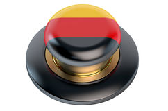 Tysklandflaggaknapp Royaltyfri Foto