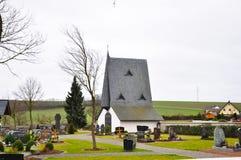 Tysklandkyrkogård royaltyfri bild