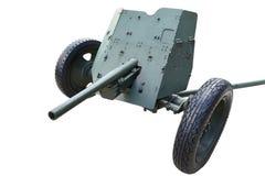 Tyskt anti--behållare vapen isolerade Pak 36 Royaltyfri Bild