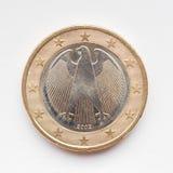 Tyskt euromynt Arkivfoto
