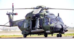 98+93 tyskt flygvapen NHI NH90 TTH Royaltyfri Foto