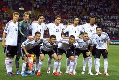 Tyskt medborgarefotbollslag Royaltyfria Foton