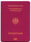 tyskt pass Arkivbild