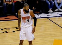 Tyson Chandler. Center for the Phoenix Suns at Talking Stick Resort Arena in Phoenix Arizona USA October 3,2016 Royalty Free Stock Photo