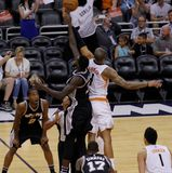Tyson Chandler. Center for the Phoenix Suns at Talking Stick Resort Arena in Phoenix AZ USA  10-1-16 Royalty Free Stock Photos