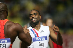 Tyson Gay Asafa Powell Royalty Free Stock Images