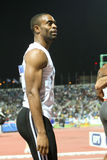 Tyson Gay Mens 100m  World Athletics Final 2009 Royalty Free Stock Photography