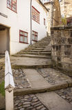 Tysons Steps at Robin Hoods Bay Village. In Yorkshire, England stock photography