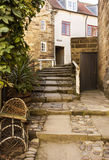 Tysons Steps at Robin Hoods Bay Village Royalty Free Stock Photo