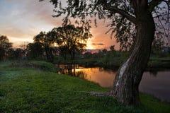 Tyst afton Fotografering för Bildbyråer