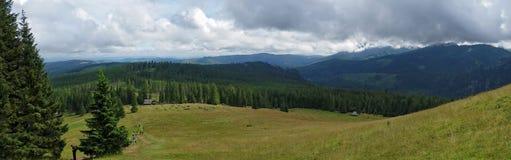 Tyst berg Arkivbilder