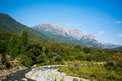 Tyst berg Royaltyfria Bilder
