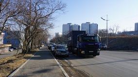 Tyst cove vladivostok Primorye Ryssland Arkivbild