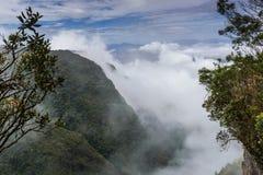 Tyst dal i Kodaikanal Arkivbild