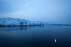 tyst flod Arkivbilder