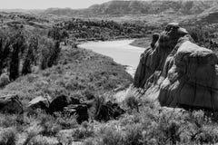 Tyst flod Arkivbild