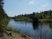 Tyst flod Royaltyfri Foto