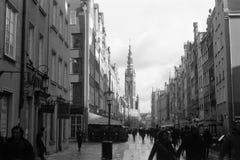 Tyst gatalivstid Royaltyfria Foton
