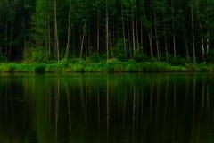 Tyst lake Arkivbilder