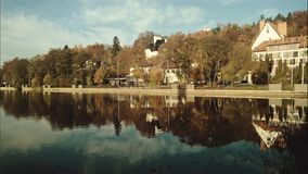 tyst lake royaltyfri fotografi