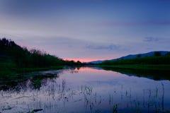 tyst lake fotografering för bildbyråer