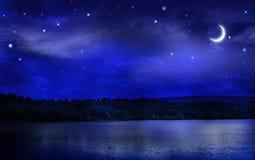 Tyst natt Royaltyfri Fotografi