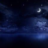Tyst sommarnatt Arkivbilder