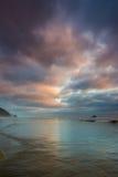 tyst strand Royaltyfri Fotografi