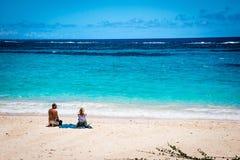 Tyst strand Bermuda Royaltyfria Foton