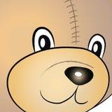Tysta ned av nallebjörn Arkivfoto