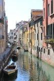 Tystnadkanaler av Venedig Fotografering för Bildbyråer