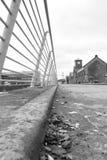Tytaniczny Dockside poręcz zdjęcie royalty free