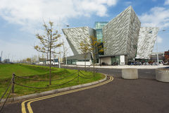 Tytaniczny muzeum, Belfast Północny - Ireland obraz stock