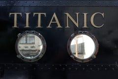 Tytaniczny odwiedza centre w cobh Obrazy Stock