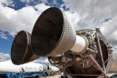 Tytanu 11 ICBM rakieta fotografia stock