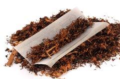 Tytoń i prześcieradło papierosowy papier zdjęcie royalty free