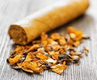 Tytoń i cygaro Fotografia Stock