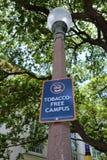 Tytoń Uwalnia kampus Fotografia Royalty Free
