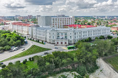 Tyumen architectural and construction university Royalty Free Stock Photo