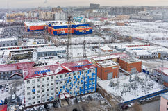 Tyumen distributive networks and energy company Royalty Free Stock Photos