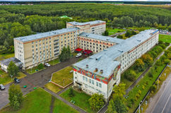 Tyumen Neftyanik hospital in medical town, Russia Stock Images